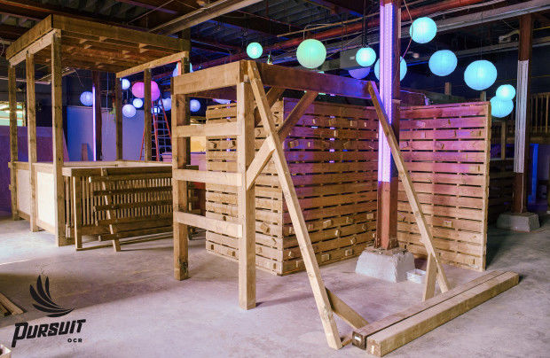 Massive Indoor Obstacle Courses  Pursuit OCR