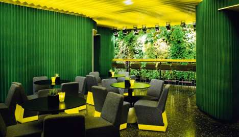 Fake Jungle Dining New Restaurant Tropical Rain Forest Theme