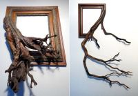 Tree Branch Photo Frames : real tree branches