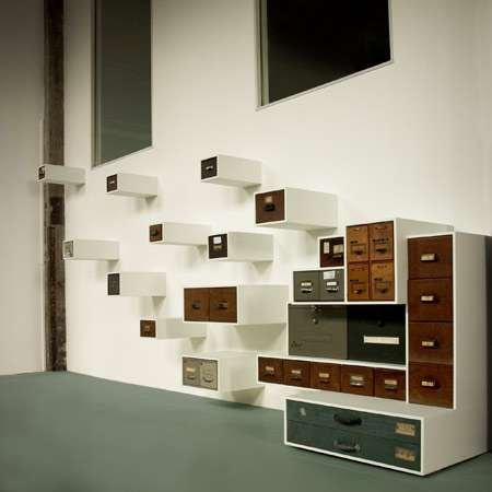 Recycled Office Cabinet Shelves Drawerment
