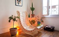 Upcycled Bottle Chairs : Recycled Plastic