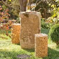 Bottle Stopper Seating : Recycled Wine Cork