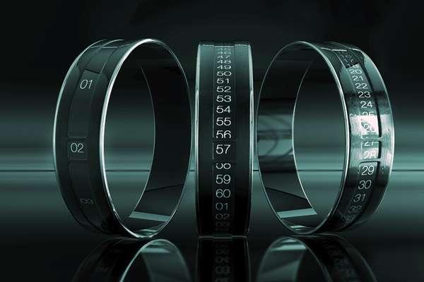 Revolving Bracelet Watches  Revolving bracelet watches