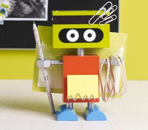 Cyborg Supply Holders  Robot Desk Organizer