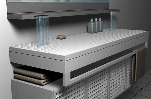 Waterfall Washbasins The Roca Sink Plate By Maria