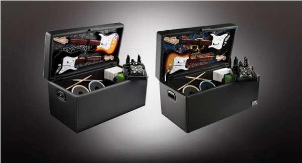 Gamer Storage Furniture  Rock Band Storage Ottoman