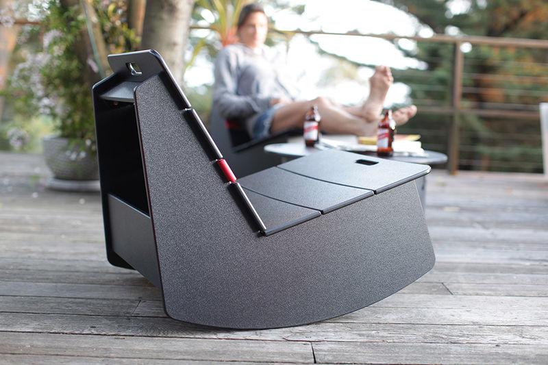 Recycled Milk Jug Seating  rocker chair