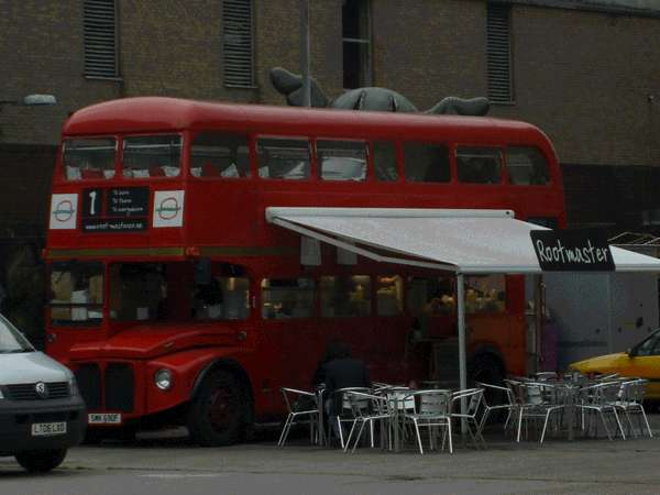 Alternative Dining in a Bus Root Master Restaurant