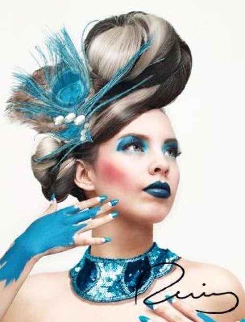 Monochromatic Makeup Rosario Ruizs Colormiuse Models
