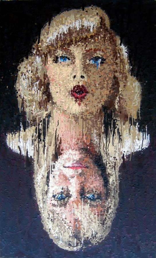Runny Pointillism Alex Youngs AlterEgo Paintings