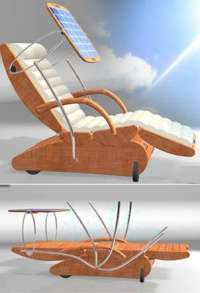Sun-Activated Loungers: The S3 Chair Follows the Light for ...