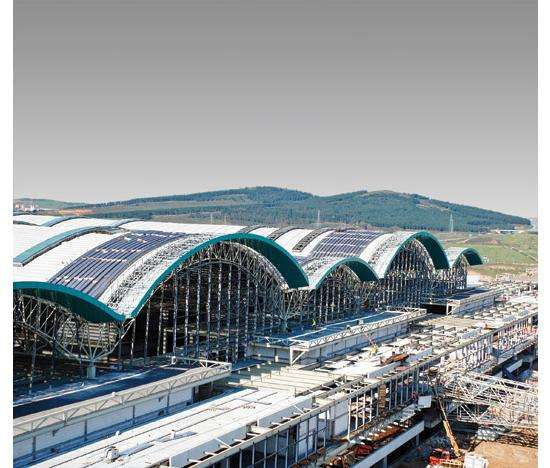 Seismic Superstructures The Sabiha Gokcen International Airport Can Withstand Severe Earthquakes