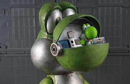 Retro Gamer Robots The Yoshi Mecha Robot Makes Animation