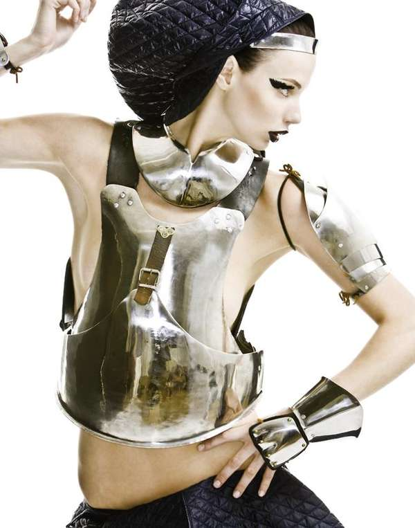 Galactic Body Armor Protective Fashion Garb in Highlights