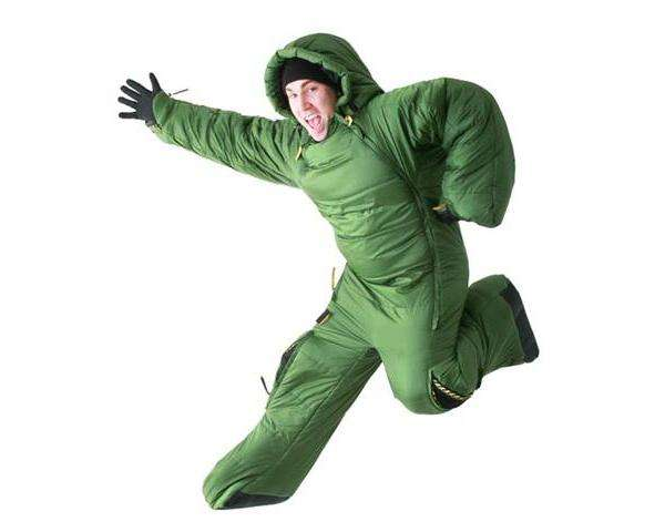 inflatable chairs for adults antique wicker uk mobile sleeping bags : selk'bag sleepwear system