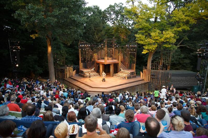 Outdoor Shakespearean Productions  Shakespeare in high Park