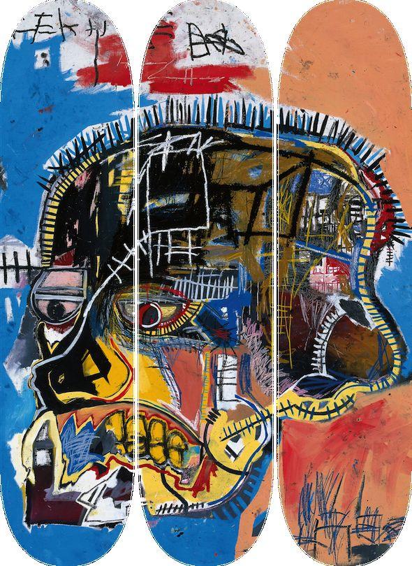 Artist Inspired Skate Decks Skateroom X Jean Michel Basquiat