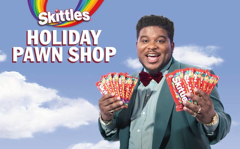 Holiday Candy Pawnshop PopUps  Skittles Holiday Pawn Shop