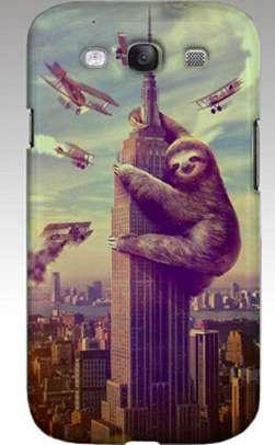 Movie Parody Phone Cases  Slothzilla Phone Case