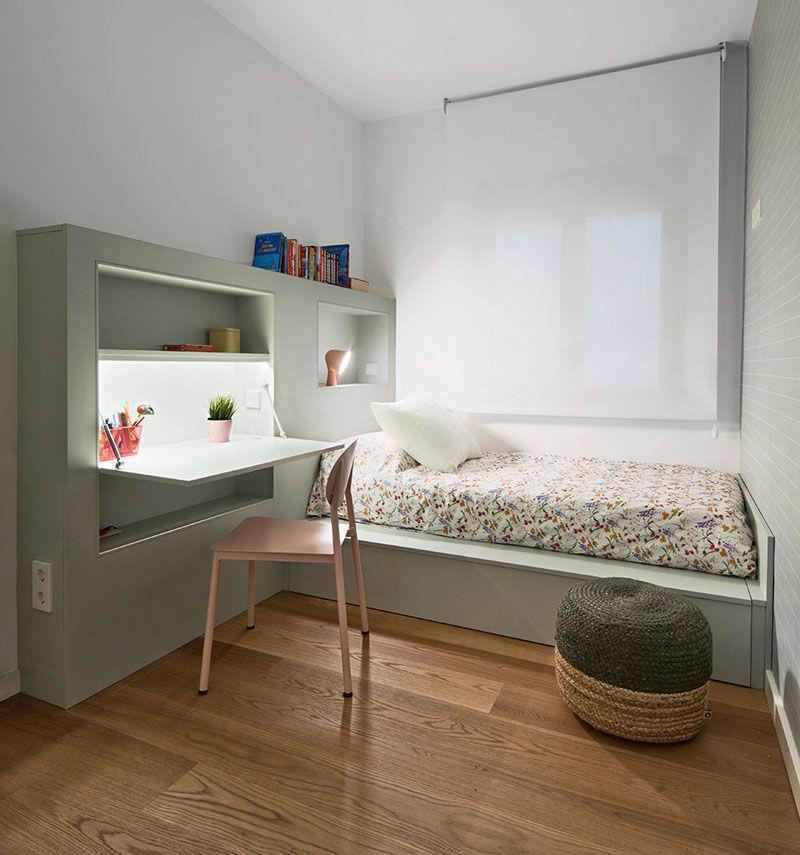 DeskEmbedded Bed Furniture  small bedroom furniture