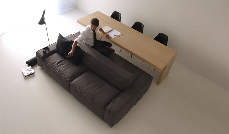 DoubleSided Sofas  small space furniture