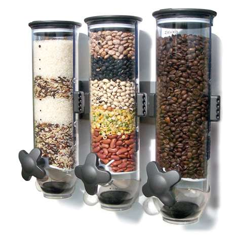 dispenser kitchen lowes countertops laminate capsules the smartspace dry food brings hotel