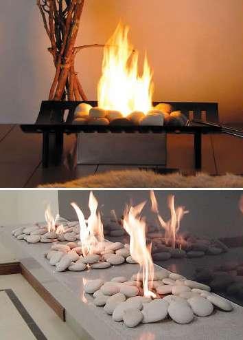 Smokin Hot Designs EcoGreen Fire OpenFlame Ventless Fireplace