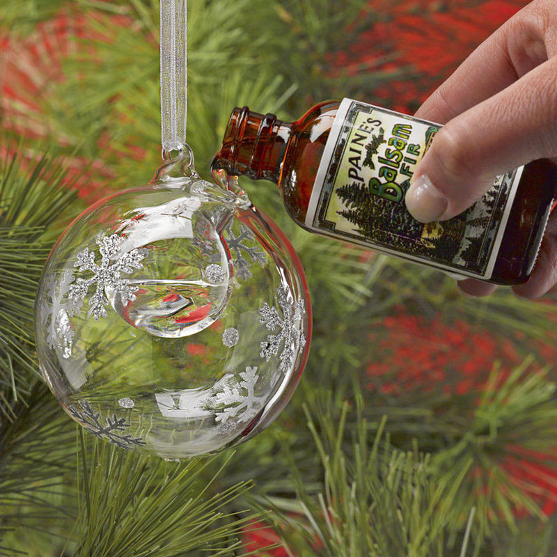 Scented Christmas Ornaments  Snowflake Bubble