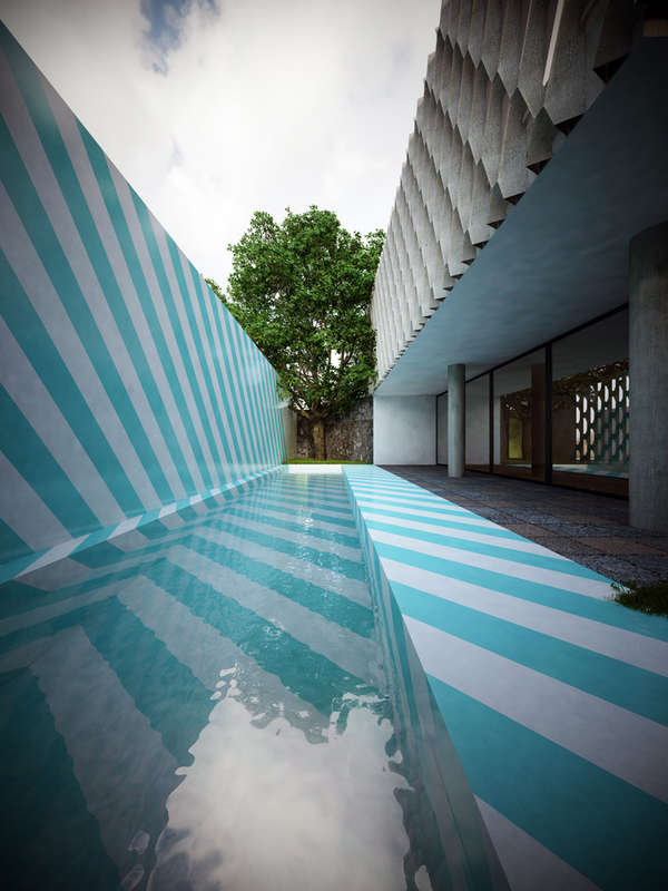 Optical Illusion Architecture  Solar Powered Homes