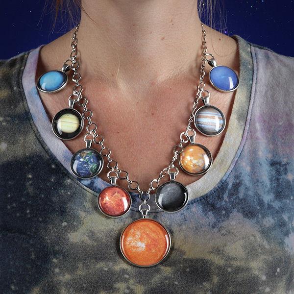 Dazzling Planetary Jewelry Solar System Jewelry