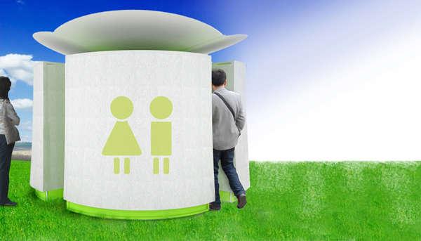 EcoFriendly Portable Restrooms  solarpowered toilet