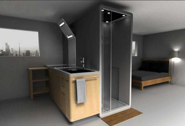 BathroomIntegrated Kitchens  Space Saving Furniture