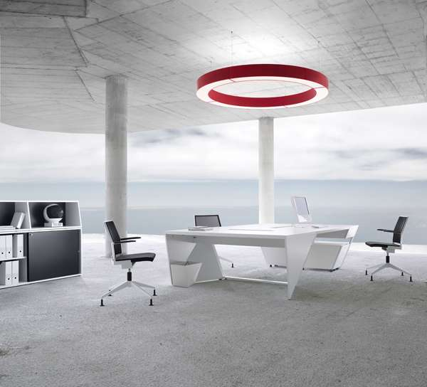Outer Space Office Furniture Kinzo Air  Airlite Look Like Something From a Space Shuttle
