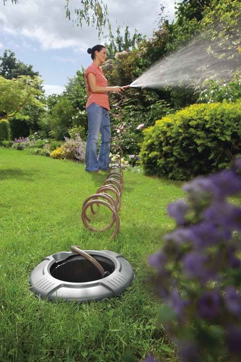 InGround Garden Hoses  spiral hose