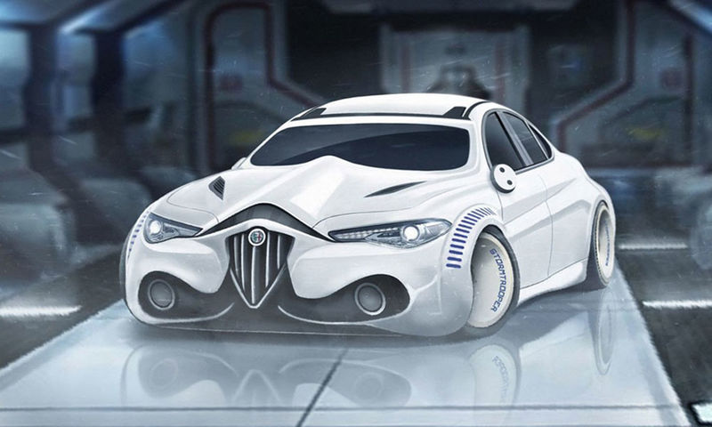 SciFi Character Cars  Star Wars movie
