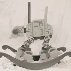 Infant Rocking Chair Kendrick Sleeper And A Half Sci-fi Baby Rockers : Star Wars Toy