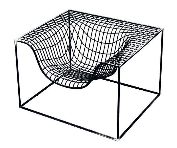 Funky Steel Furniture: 'Wimbledon Chair' from Nola for