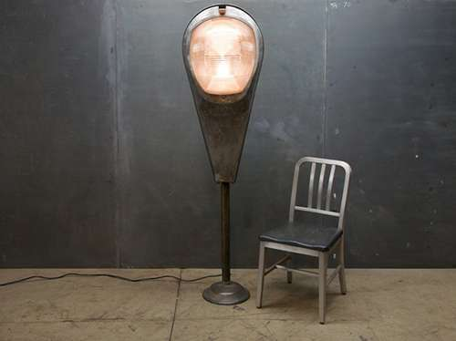 Urban Upcycled Lamps Super Guppy Street Light Takes