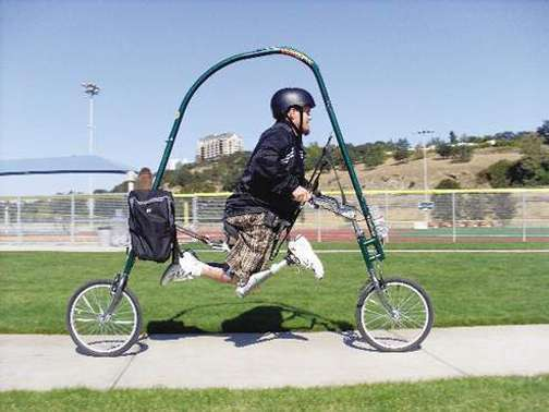 Superhuman Speed Gliders The Glide Cycle Lets You Run