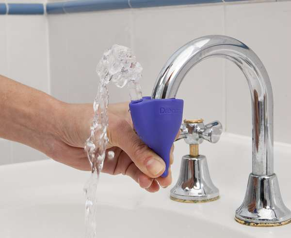 touch faucet kitchen barn house instant water fountains: the tapi add-on turns any ...