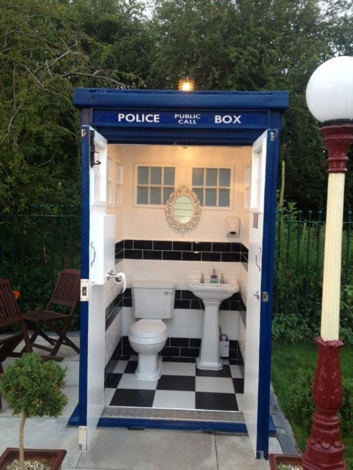 Portable Toilets TARDIS Portable Toilet