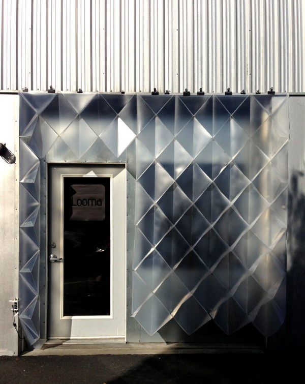 Translucent Temporary Facades  temporary architecture