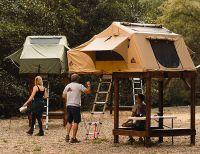 Elevated Rooftop Tent Frames : Tepui SkyCamp