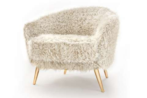 Fluffy Seating  the cutie chair