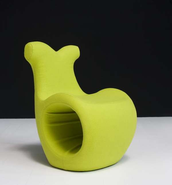 SnailInspired Furniture Helix Chair by Karmelina Martina