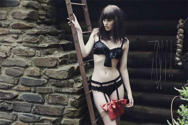 """The Hunted"" by Hopeless Lingerie"