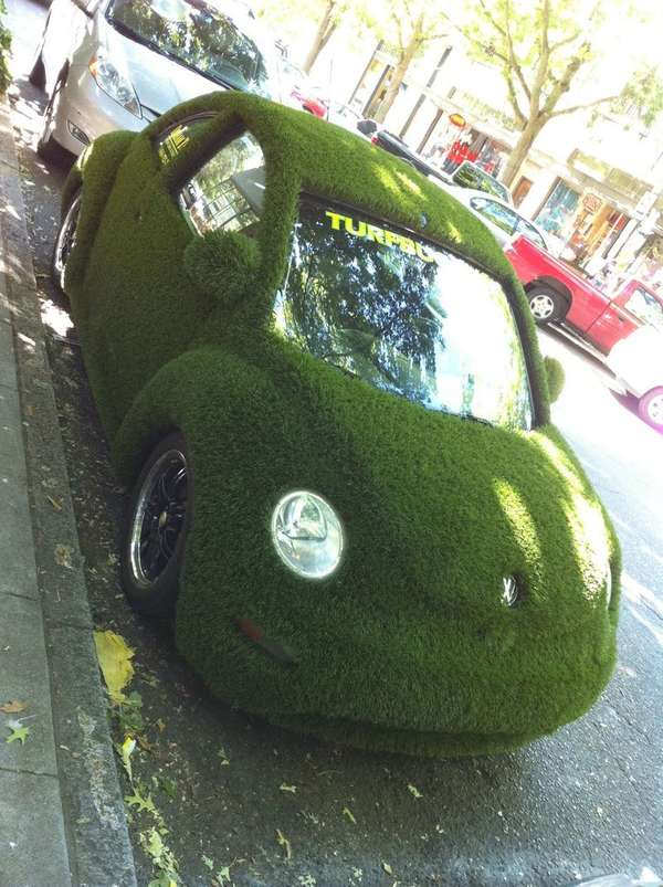 Lawn Covered Cars The Turfbeetle