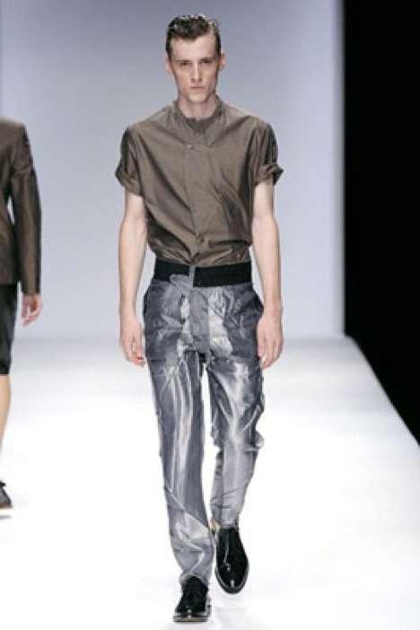 Aluminum Foil Fashion Tim Soar SpringSummer 2010 Takes