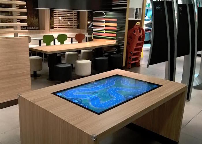 Touchscreen Computer Coffee Tables : touch table