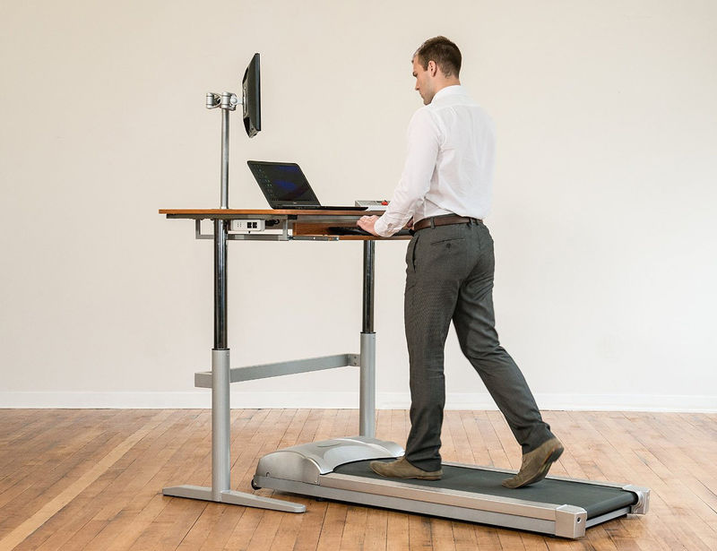 Multifunctional Workout Desks  treadmill desk